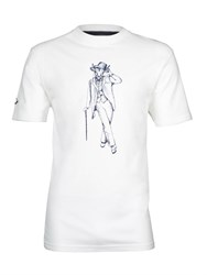 Raging Bull Gentleman T Shirt White