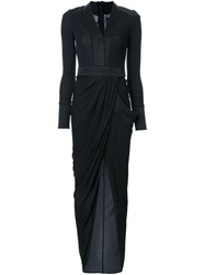 Thomas Wylde 'Bianca' Long Dress Black