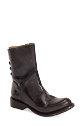 Bed Stu 'Cheshire' Boot Women Black Glaze Leather