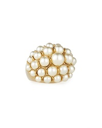 Signature Pearly Cocktail Ring St. John Collection