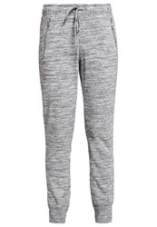 Gap Tracksuit Bottoms Space Dye Grey Marl