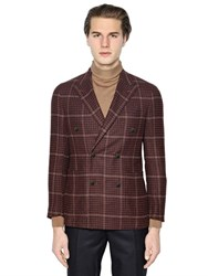 Boglioli K Jacket Wool Blend Houndstooth Jacket