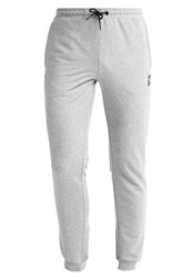 Your Turn Active Tracksuit Bottoms Mottled Grey