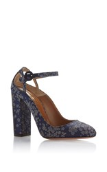 Aquazzura Sweet Thing Pump Navy