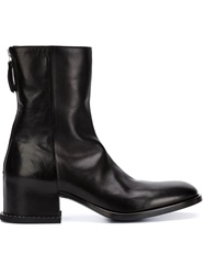 Givenchy Concealed Heel Ankle Boots Black