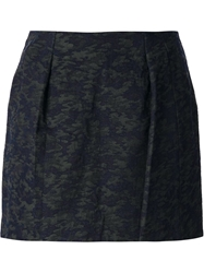Department 5 Flared Skirt Blue