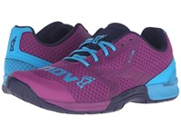 Inov 8 F Lite 250 Purple Blue Navy Women's Running Shoes Pink