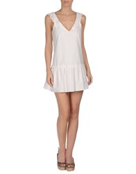 Ermanno Scervino Beachwear Cover Ups White