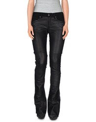 Superfine Denim Denim Trousers Women Black