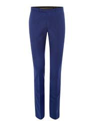 Label Lab Rutherford Plain Extra Slim Suit Trousers Navy