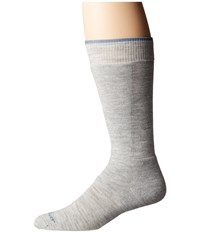 Fox River Telluride Light Grey Crew Cut Socks Shoes Gray
