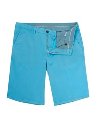 Oscar Jacobson Bailey Chino Shorts Aqua