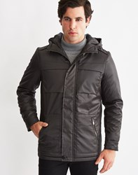 Only And Sons Mens Parka Black