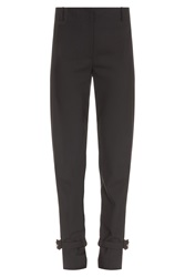 Adam By Adam Lippes Light Wool Buckle Ankle Pant