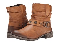 Rieker 74798 Peggy 98 Cayenne Eagle Women's Dress Boots Brown