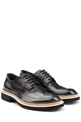 Mcq By Alexander Mcqueen Leather Columbia Lace Ups Black