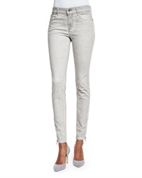 Ralph Lauren Black Label Mid Rise Matchstick Jeans Smoke Gray