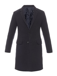 Wooyoungmi Notch Lapel Pilled Wool Blend Coat