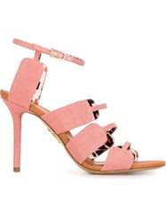 Charlotte Olympia 'Meryl' Sandals Pink And Purple