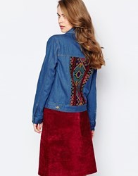 Sister Jane Goddess Jacket In Denim Denim