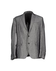 Liu Jo Jeans Suits And Jackets Blazers Men Steel Grey