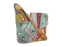 Anuschka 257 Dancing Peacock Handbags Multi