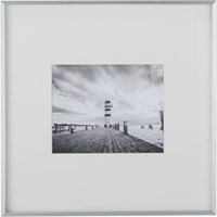 Cb2 Gallery Brushed Aluminum 8X10 Picture Frame
