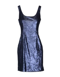 Charlott Short Dresses Dark Blue