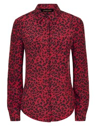 Jaeger Donna Ida For Take Me Anywhere Leopard Silk Blouse The Sure Thing