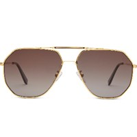 Oliver Goldsmith Piero Gold Sunglasses