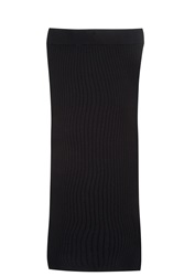 Forte Forte Ribbed Skirt Black