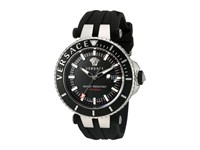 Versace V Race Diver Vak01 0016 Stainless Steel Black Watches