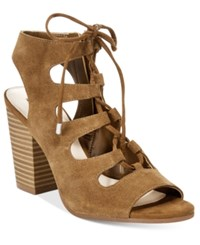 Inc International Concepts Radka Dress Sandals Only At Macy's Women's Shoes Toffee