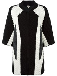 I'm Isola Marras Contrast Short Sleeve Cardigan White