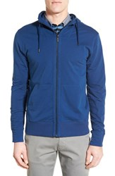 Men's Good Man Brand 'Pro' Full Zip French Terry Hoodie Blue