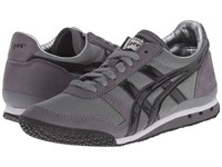 Onitsuka Tiger By Asics Ultimate 81 Silver Black Classic Shoes Gray