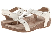 Aetrex Lori Adjustable Quarter Strap Antique White Women's Sandals
