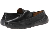 Clarks Ashmont Race Black Smooth Men's Slip On Shoes