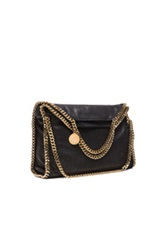 Stella Mccartney Small Falabella Fold Over Tote In Black