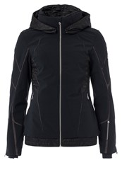 Spyder Prycise Ski Jacket Black Black Denim