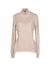 Gran Sasso Knitwear Turtlenecks Women Light Pink