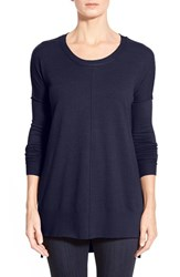 Women's Coin 1804 Dolman Sleeve High Low Tunic