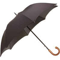 Barneys New York Pinstripe Stick Umbrella