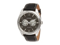 Citizen Ao9020 17H Men's Dress Silver Tone Stainless Steel Analog Watches Bronze