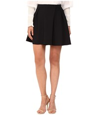 See By Chloe Embellished Crepe Mini Skirt Dark Night