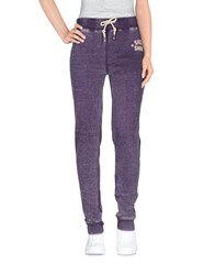 Shoeshine Trousers Casual Trousers Women Purple