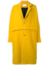 Reality Studio 'Roger' Coat Yellow Orange