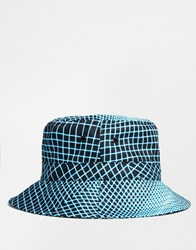 King Apparel Volt Bucket Hat Blue