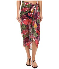 Tommy Bahama Remy Long Rectangle Pareo Cover Up Multicolor Women's Swimwear