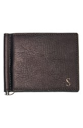 Men's Cathy's Concepts Personalized Leather Wallet And Money Clip Brown Brown S